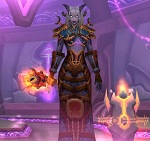 The mog I ran with to begin with. It's not a head turner and the staff doesn't fit theme-wise. I have several nice shields and a dagger to go that matches way better.