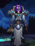 My poor and neglected priest - here at 81 still in her PvP gear.