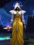 My priest is now 85 and this is her prospective mog. Still looking for a belt.