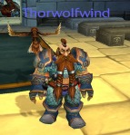 Mog: I get a Wildhammer impression from Thorwolfwind. Maybe it's the hair. Regardless, I think his mix and match is great.