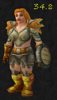 Discus - I'm currently looking into something similar for my goblin hunter. It's a very simple mog, but I really like those shoulders and have been pondering how to make use of them myself (Frostwolves - Argo)