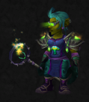 Tabard - Such a cute goblin! I love how all the colors of the tabard are represented in the outfit. (Sporeggar - Missus Amateur)