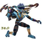 Javelin - This one looks so good on blue troll skin, the dusty colors all compliment each other. I also think this mog strikes a really good balance between simple and elaborate (Silvermoon - Kamalia et Alia)